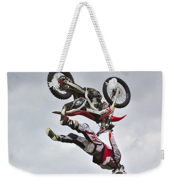 Flying Inverted Weekender Tote Bag