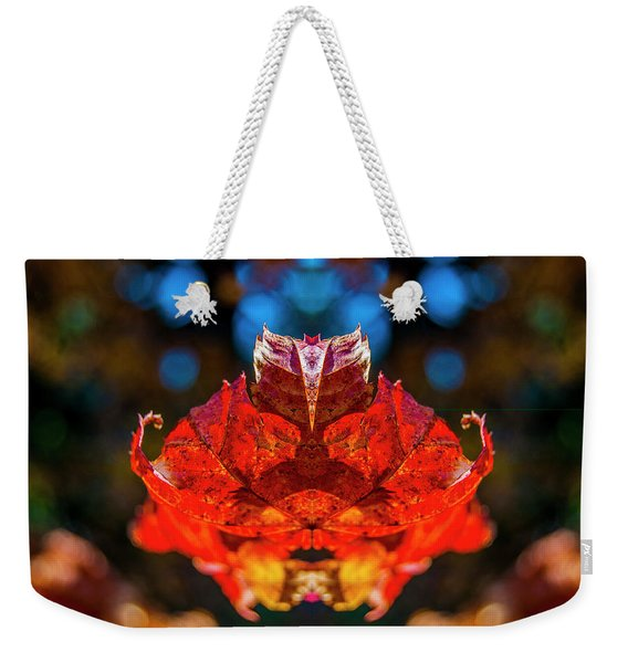 Flying Red Phyllium Weekender Tote Bag
