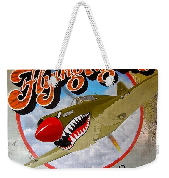 Flying Tigers Weekender Tote Bag