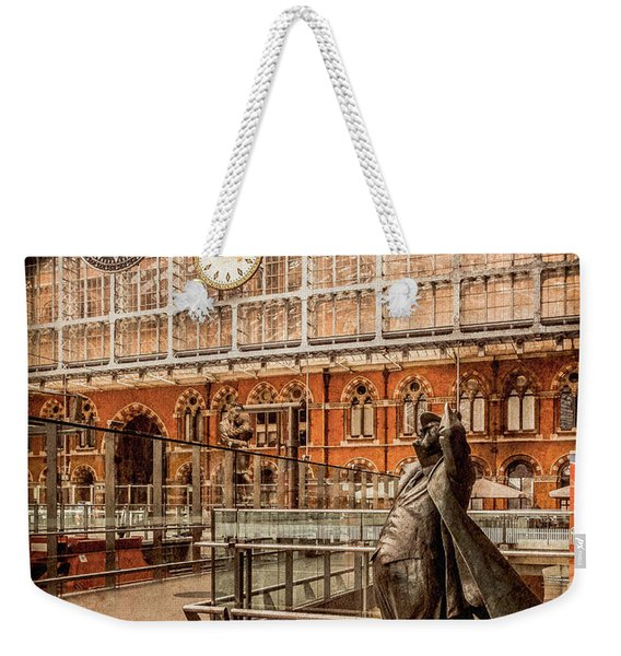 London, England - Flying Time Weekender Tote Bag