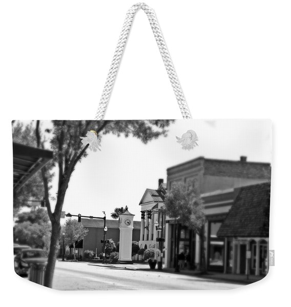 Focus In Time Downtown Conway South Carolina Weekender Tote Bag