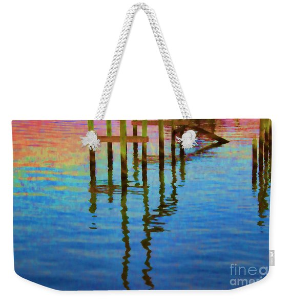 Focus On The Water Weekender Tote Bag