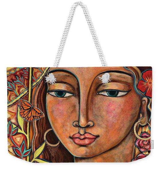Focusing On Beauty Weekender Tote Bag