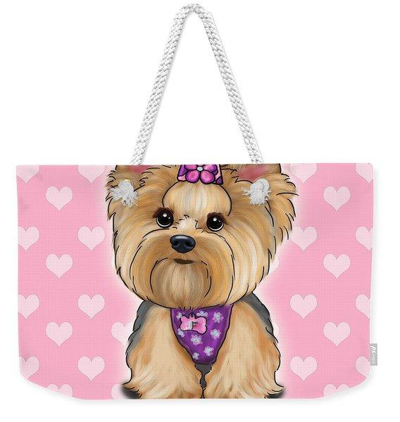 Fofa Hearts Weekender Tote Bag