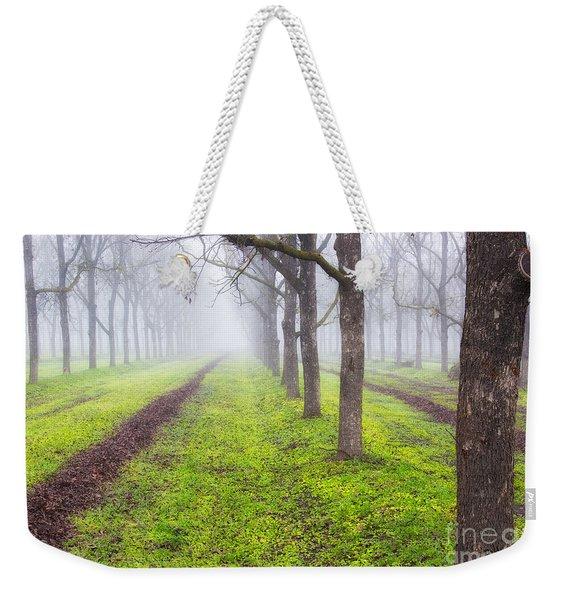 Fog And Orchard Weekender Tote Bag
