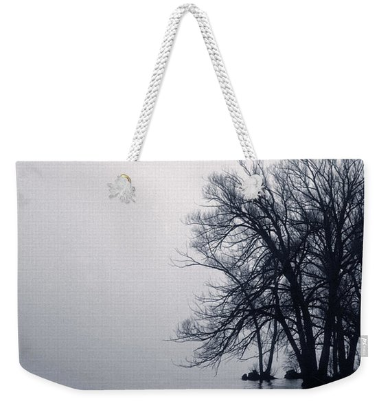 Fog Day Afternoon Weekender Tote Bag
