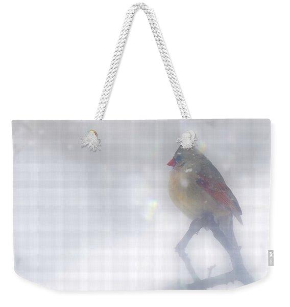 Fog Weekender Tote Bag