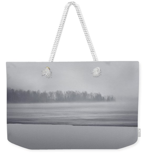 Fog Light Weekender Tote Bag