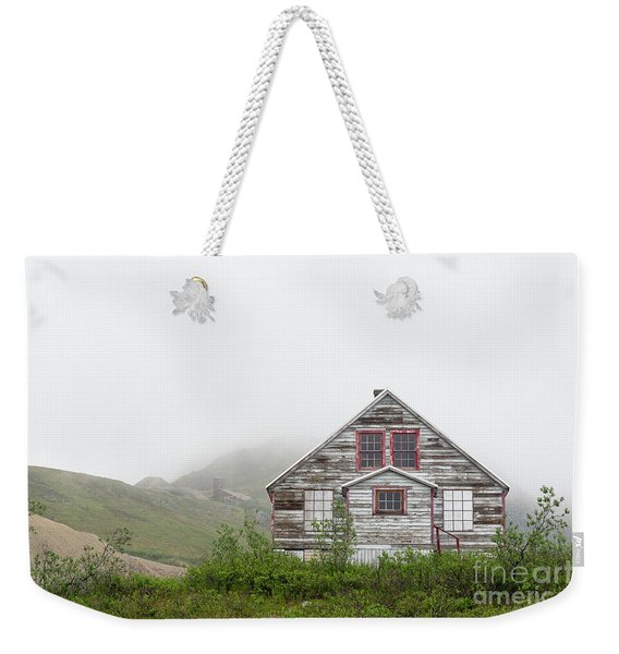 Foggy And Abandoned Weekender Tote Bag