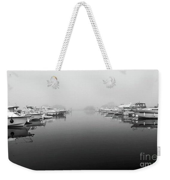 Foggy Day Banagher Weekender Tote Bag