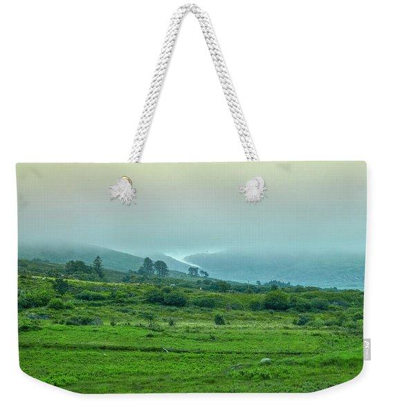 Foggy Day #g0 Weekender Tote Bag