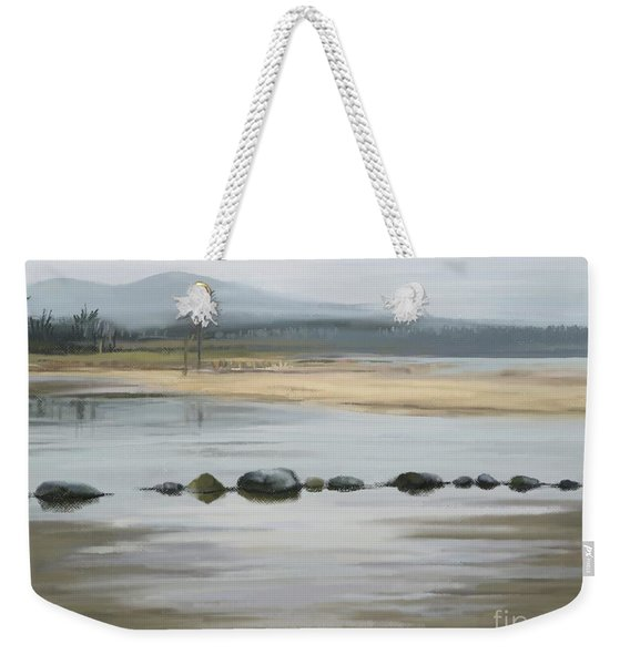 Foggy Day Weekender Tote Bag