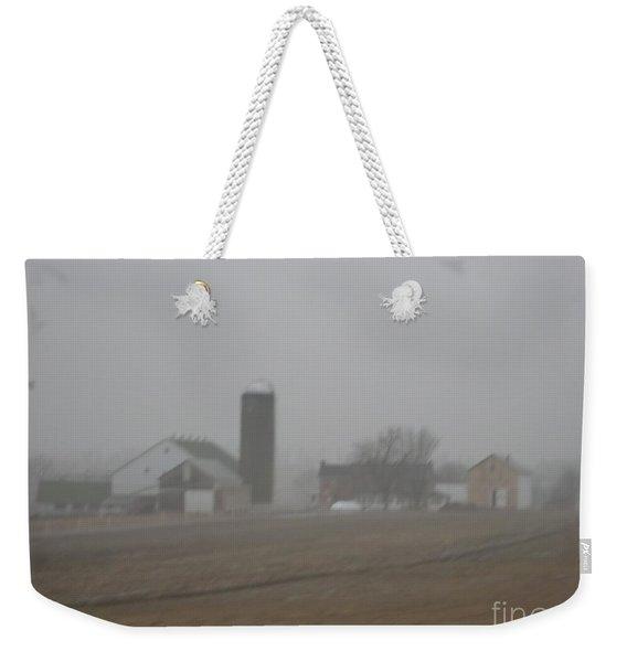 Foggy Evening Weekender Tote Bag