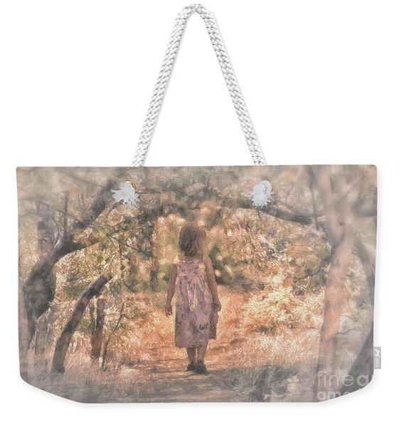 Foggy Morning Light Weekender Tote Bag
