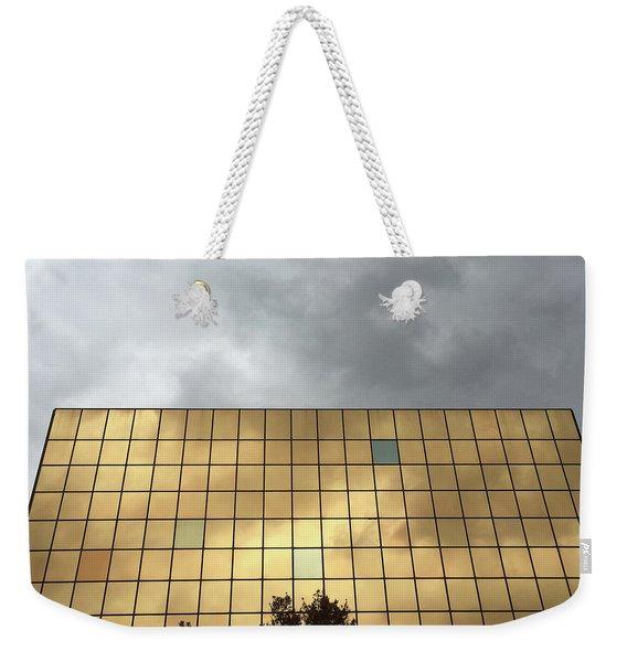 Foil Weekender Tote Bag