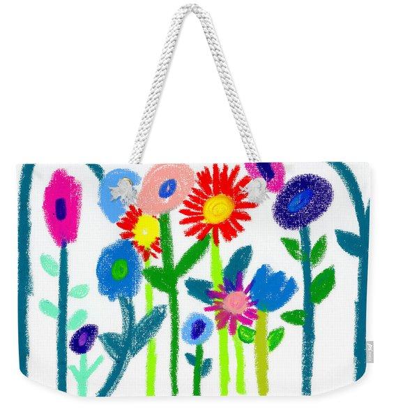 Folk Garden Weekender Tote Bag