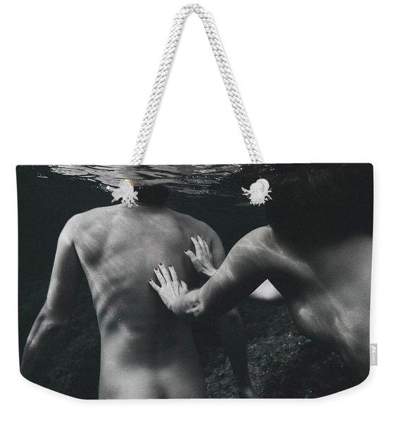 Follow Him Weekender Tote Bag