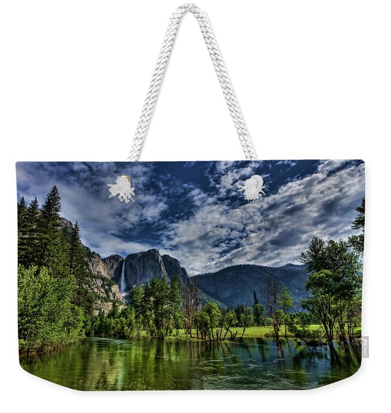 Follow The River Weekender Tote Bag