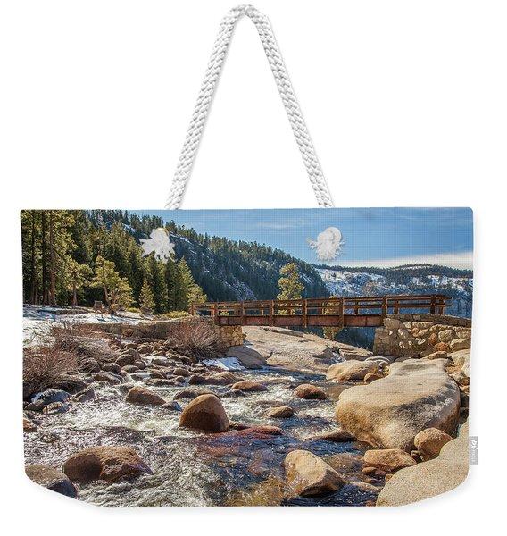Following The Falls Weekender Tote Bag