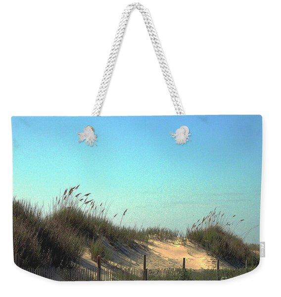 Folly Beach Sc Dunes Weekender Tote Bag