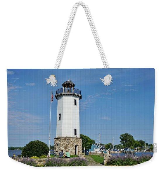 Fond Du Lac Lighthouse Weekender Tote Bag