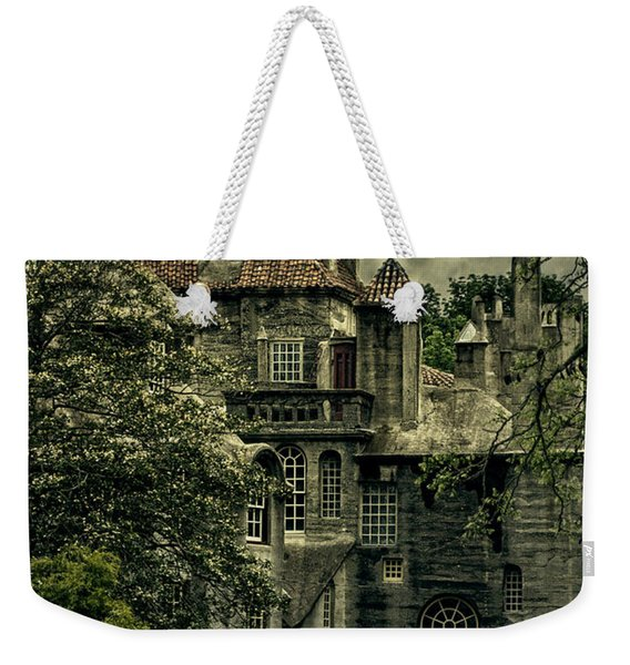 Fonthill With Storm Clouds Weekender Tote Bag