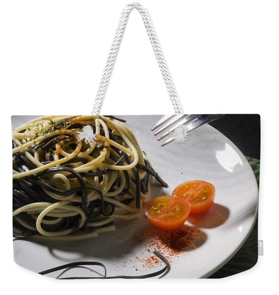 Food Weekender Tote Bag
