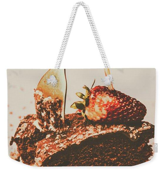 Food Nostalgia Weekender Tote Bag