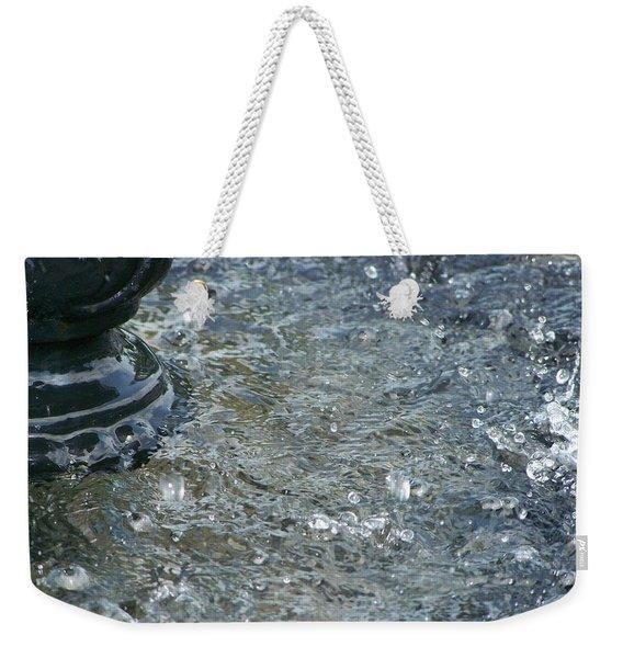 Foot Of The Fountain Weekender Tote Bag