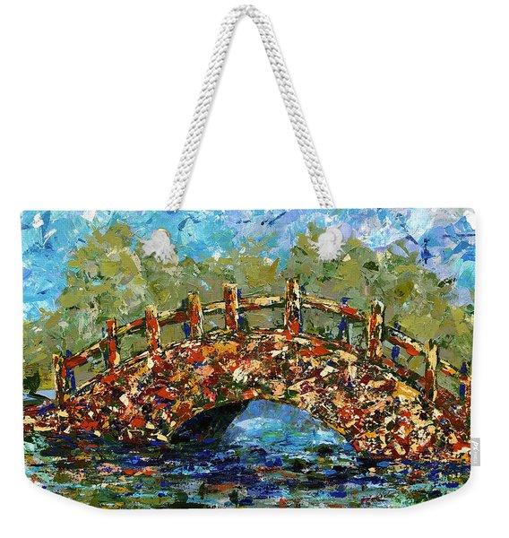 Footbridge Hilo Hawaii Weekender Tote Bag