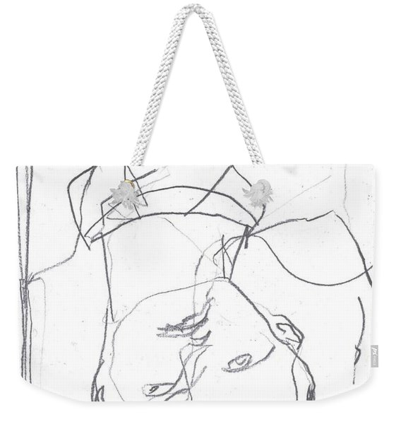For B Story 4 5 Weekender Tote Bag