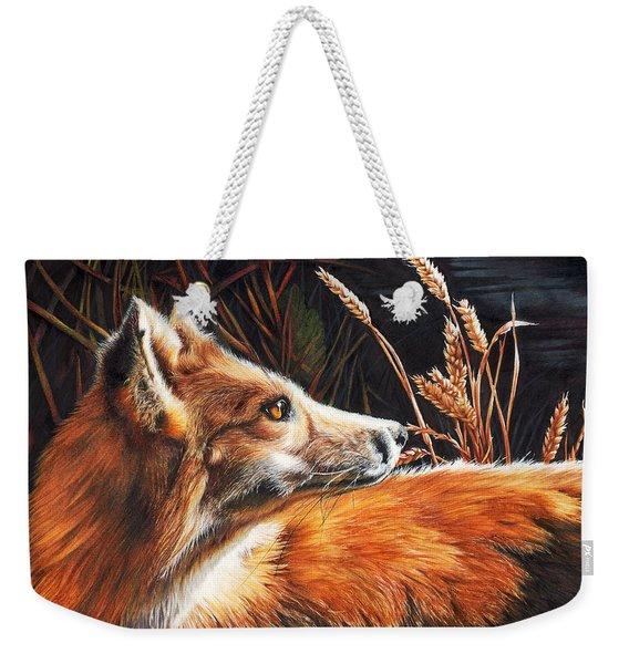 For Fox Sake Weekender Tote Bag