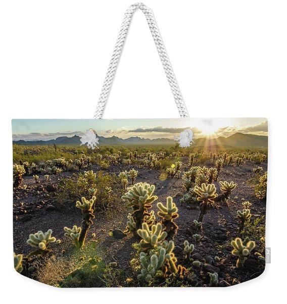 Sea Of Cholla Weekender Tote Bag