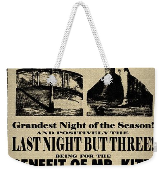 For The Benefit Of Mr Kite Weekender Tote Bag