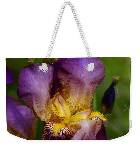 For The Love Of Iris Weekender Tote Bag