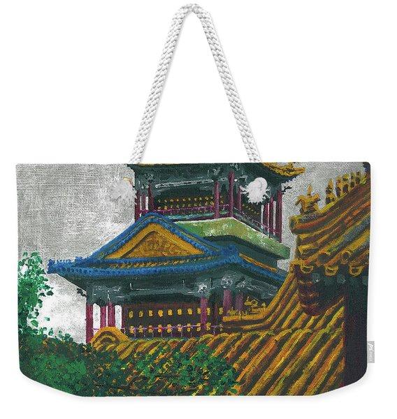 Forbidden City Weekender Tote Bag