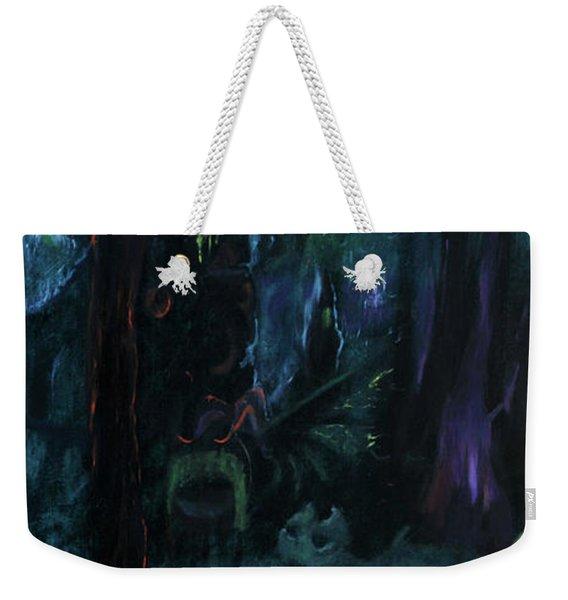 Forbidden Forest Weekender Tote Bag