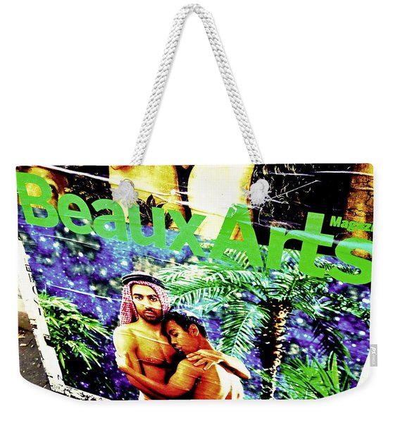 Forbidden Love Between A Jew And An Arab  Weekender Tote Bag
