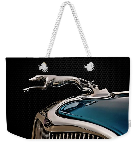 Ford Blue Dog Weekender Tote Bag