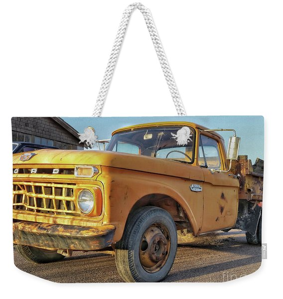 Ford F-150 Dump Truck Weekender Tote Bag