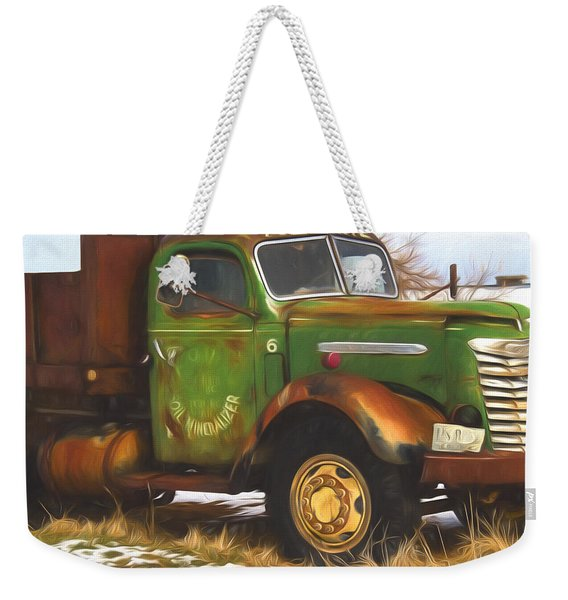 Ford Farm Truck Painterly Impressions Weekender Tote Bag