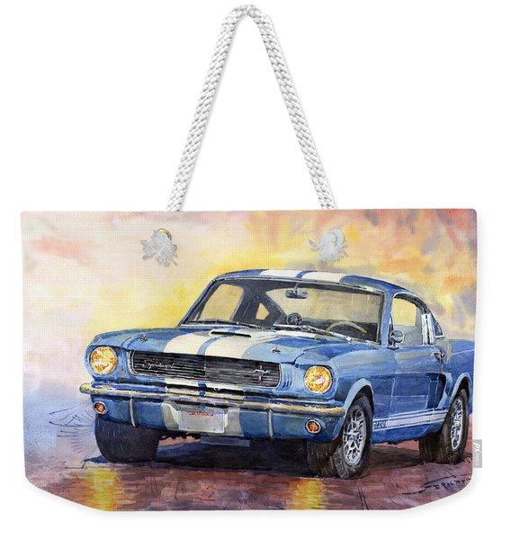 Ford Mustang Gt 350 1966 Weekender Tote Bag