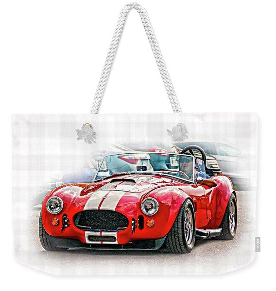 Ford/shelby Ac Cobra - Vignette Weekender Tote Bag