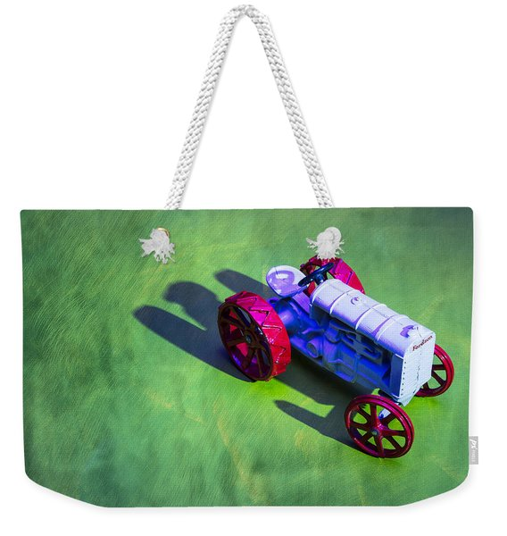 Fordson Tractor Toy 1 Weekender Tote Bag