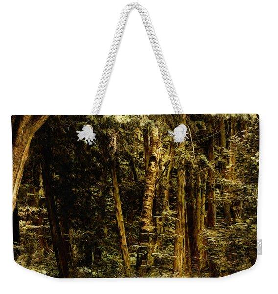 Forest Curve Weekender Tote Bag