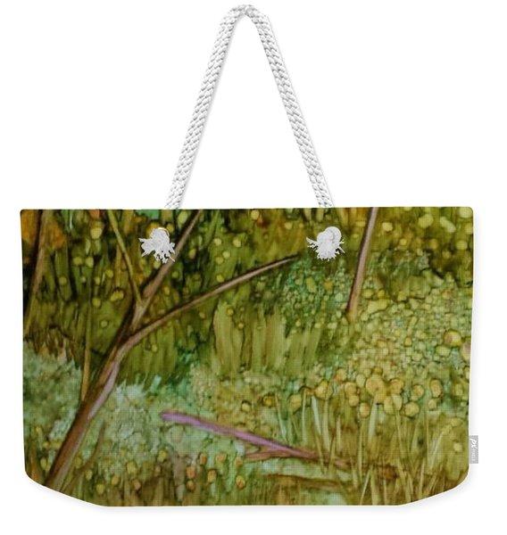 Forest Deep Weekender Tote Bag