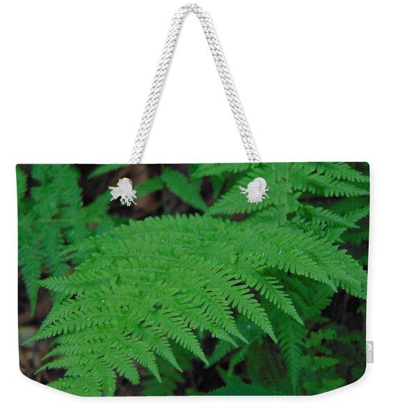 Forest Fern Weekender Tote Bag