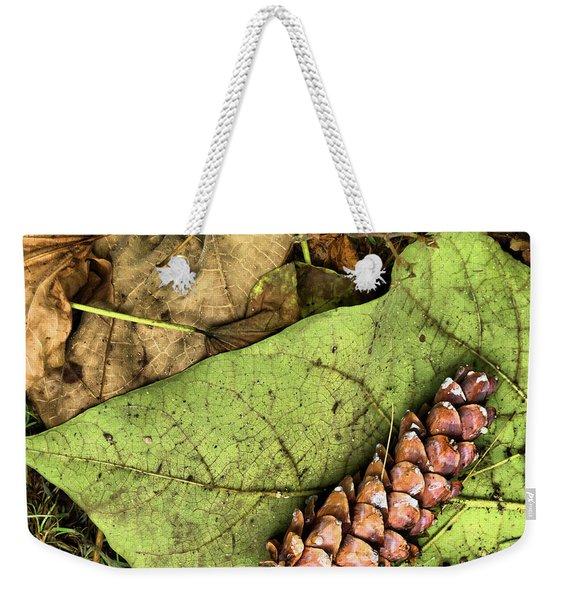 Forest Floor Still Life Weekender Tote Bag