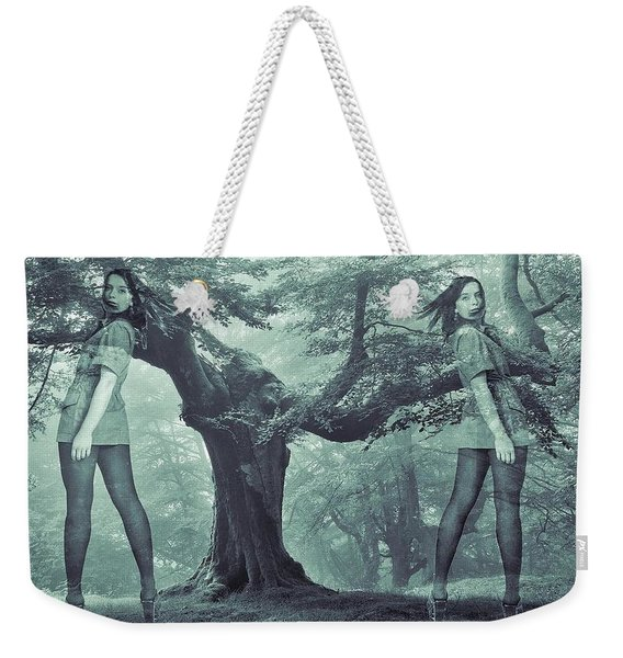 Forest Harmony Weekender Tote Bag