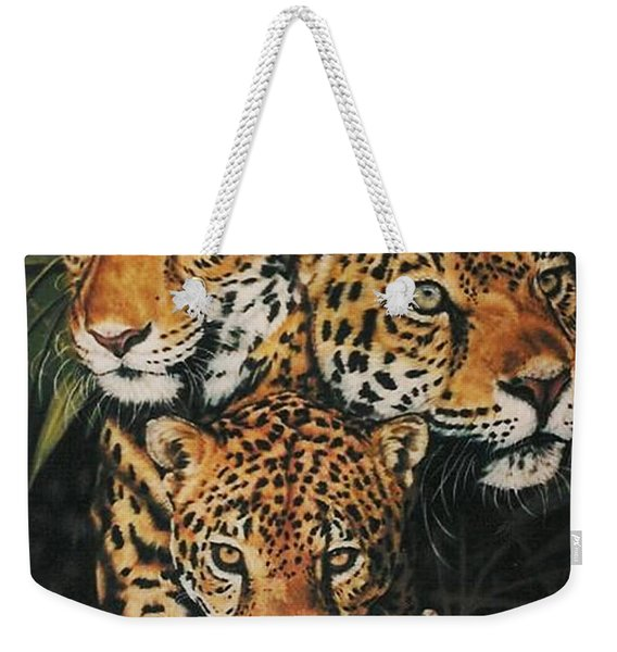 Forest Jewels Weekender Tote Bag
